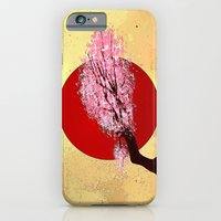 iPhone & iPod Case featuring CH33RY BLOSSOMS  - 033 by Lazy Bones Studios