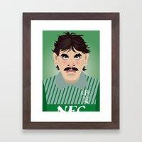 Big Neville Southall, Ev… Framed Art Print