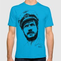 Das Boot Mens Fitted Tee Teal SMALL