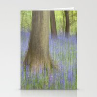 The Bluebell Wood, Norwi… Stationery Cards