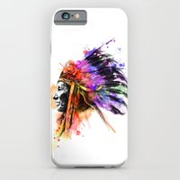 iPhone & iPod Case featuring Harmony Apache by PhilipsBen