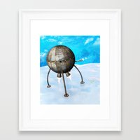 The Landing Framed Art Print