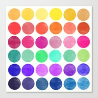 colorplay 6 Canvas Print
