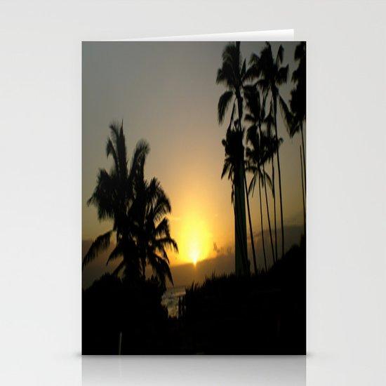 hawaii Sunset Series C Stationery Card