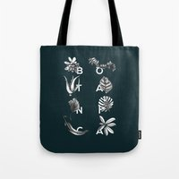Botanica Letters | Forest Green Tote Bag