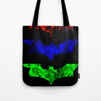 Primary Bat Tote Bag