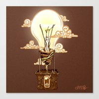 Aerostatic Bulb Canvas Print