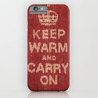 iPhone & iPod Case featuring Winter Lovers I by Studio Caravan