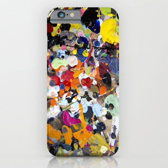 Palette. In the original sense of the word. iPhone & iPod Case