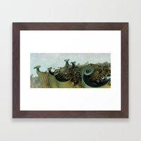 Where The Dragons Sleep Framed Art Print