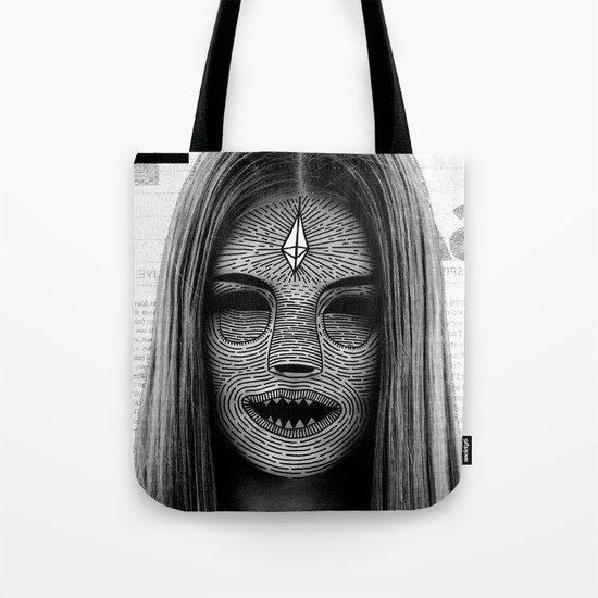 Cosmic Model Tote Bag