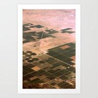 Aerial View Art Print