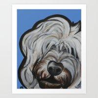 Louie Art Print