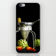 Light Painted Still Life of Tomatoes and Canning Objects iPhone & iPod Skin