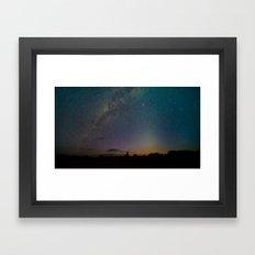 Milky Way 1 Framed Art Print