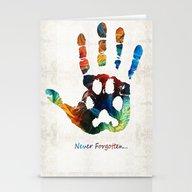 Rainbow Bridge Art - Nev… Stationery Cards