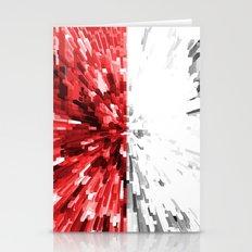 Poland Flag - Extrude Stationery Cards