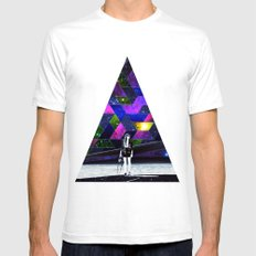 Waiting for a drive Mens Fitted Tee White SMALL