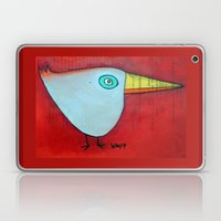 Birdy Blue Laptop & iPad Skin