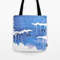 Pouring Tote Bag