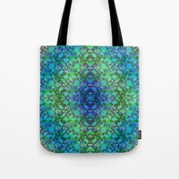 Lila's Flowers Repeat Bl… Tote Bag