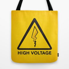 High Voltage Tote Bag