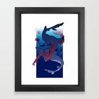 Ladykiller Framed Art Print