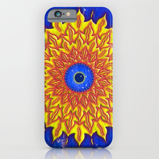 jirika fire mandala iPhone & iPod Case