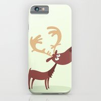 iPhone & iPod Case featuring Moose by ValD