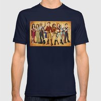Firefly Mens Fitted Tee Navy SMALL