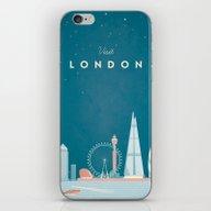 Vintage London Travel Po… iPhone & iPod Skin