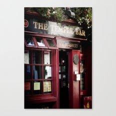 ... temple bar ... Canvas Print