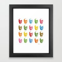 Colortherapy Framed Art Print