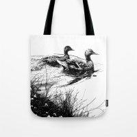 swim, swam Tote Bag