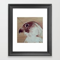 Thinking About Flight Framed Art Print