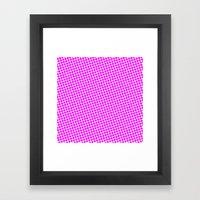 PINK DOT - SMALL - Framed Art Print