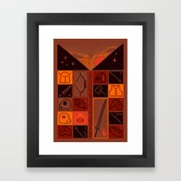INVENTORY Framed Art Print