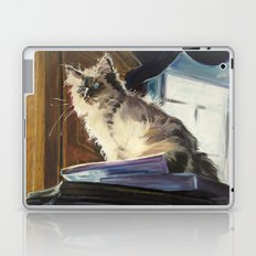 The Magnificent Ascent of the Mighty Bear (the Ragdoll Cat) Laptop & iPad Skin