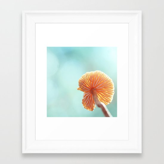 Tiny Tropical Cricket Canopy Framed Art Print