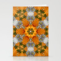 pumpkin ( pattern ) Stationery Cards