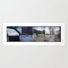 Home Collage 2 Art Print