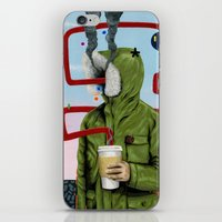 Caffeine Boost iPhone & iPod Skin