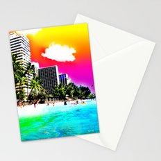 Waikiki Beach Part II Stationery Cards