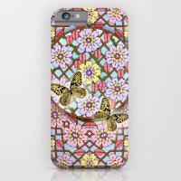 In the Garden of Love Mandala iPhone 6 Slim Case