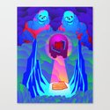 Lunch Warlocks Canvas Print