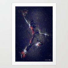 DARK DUNK Art Print