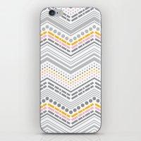 Dash & Dot - Neapolitan iPhone & iPod Skin