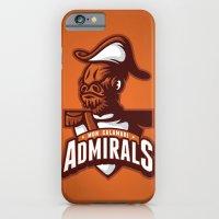 iPhone & iPod Case featuring Mon Calamari Admirals on Orange by WanderingBert / David Creighton-Pester
