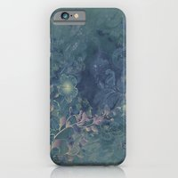 iPhone Cases featuring Vintage floral by nicky2342