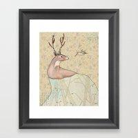 ...tener Un Bosque Dentr… Framed Art Print